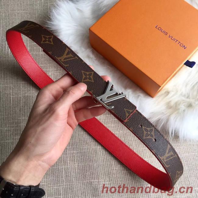 Louis Vuitton Leather Belt M0205W 30MM