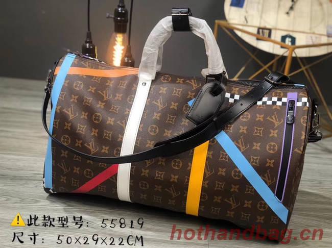 Louis vuitton KEEPALL BANDOULIERE 50 travel bag M55819