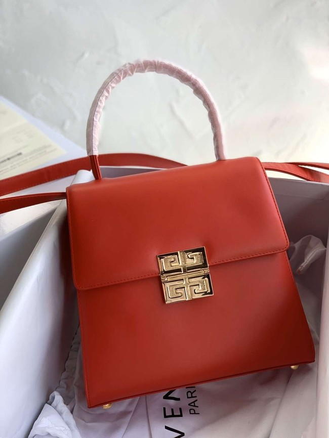 Givenchy Calfskin tote 2019 red