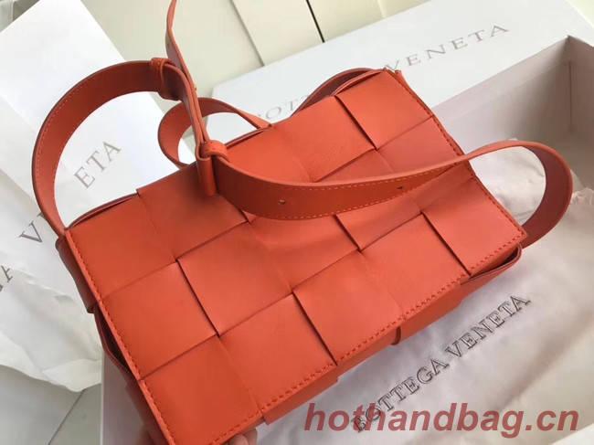 Bottega Veneta Sheepskin Weaving Original Leather 578004 orange