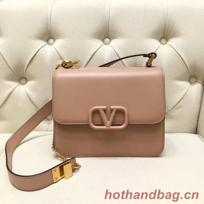 VALENTINO VLOCK Origianl leather shoulder bag 0908 pink