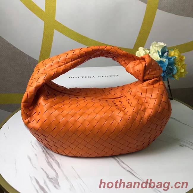 Bottega Veneta Original Weave Leather Bag BV4589 orange