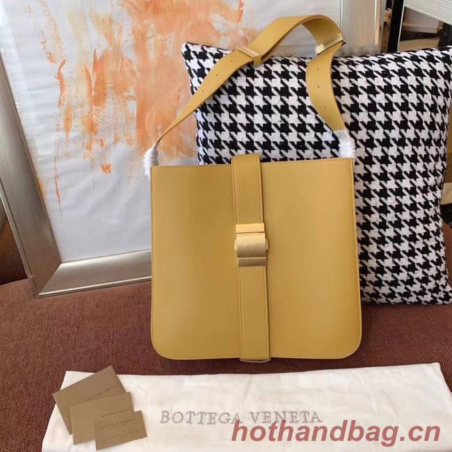 Bottega Veneta Sheepskin Original Leather 578344 yellow