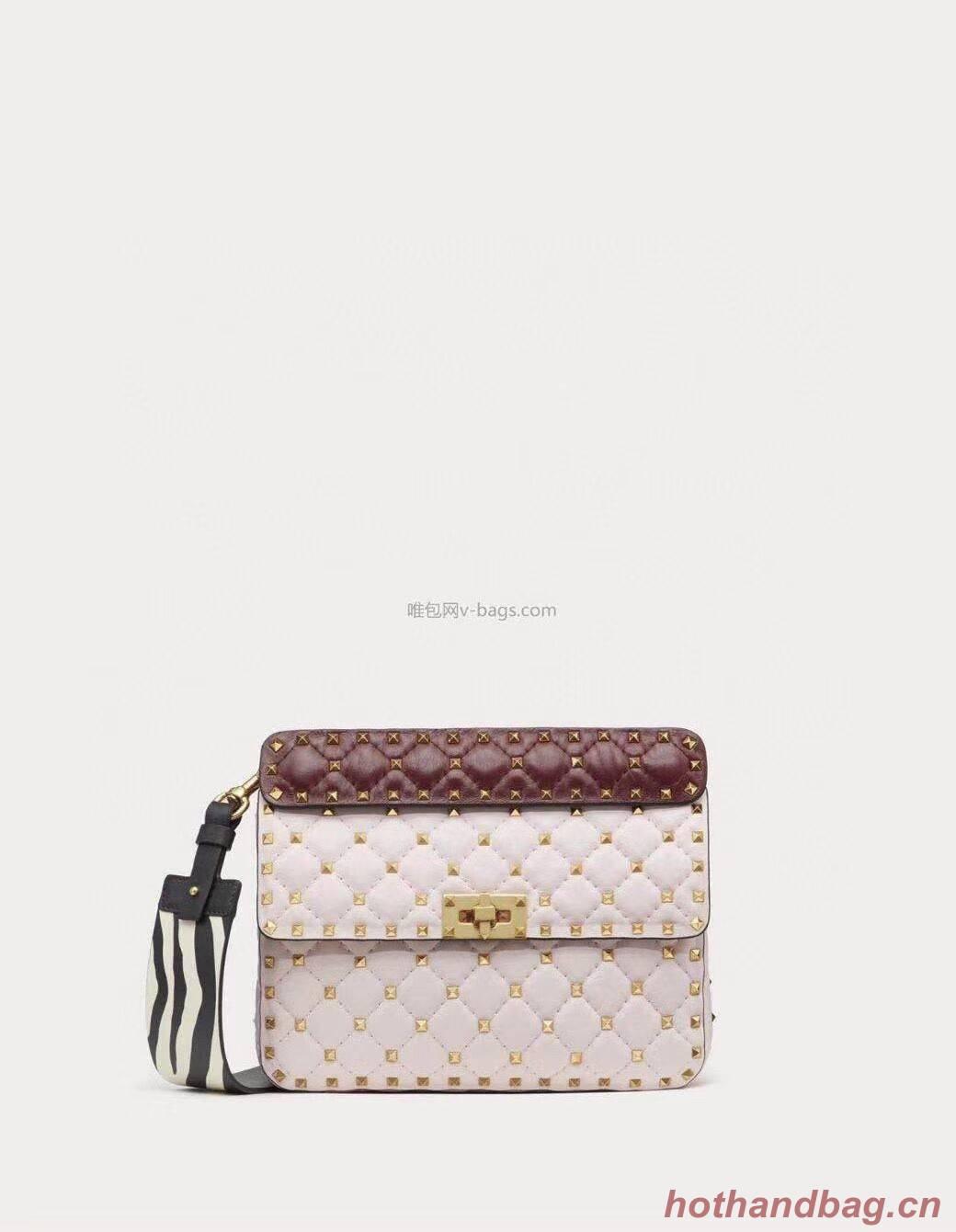 VALENTINO Origianl leather shoulder bag V0122H white