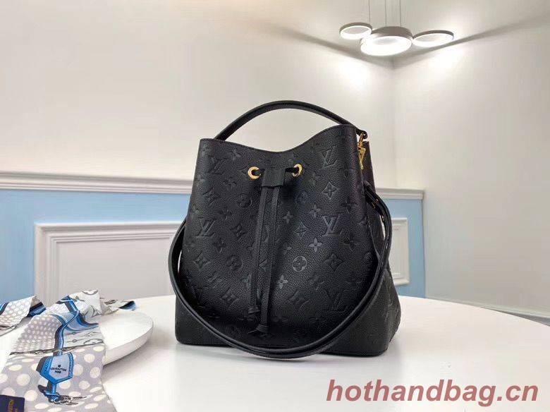 Louis Vuitton Monogram Empreinte Neonoe Original Leather M45256 Black