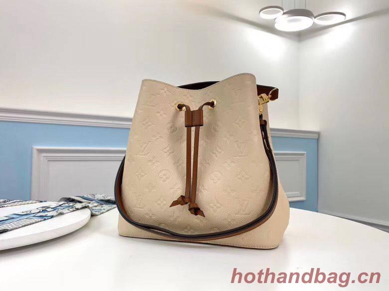 Louis Vuitton Monogram Empreinte Neonoe Original Leather M45256 Cream