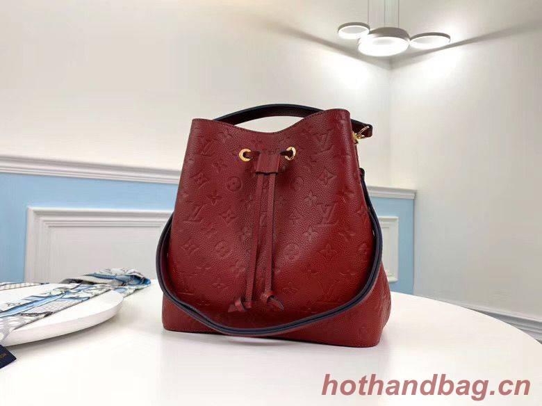 Louis Vuitton Monogram Empreinte Neonoe Original Leather M45256 Red
