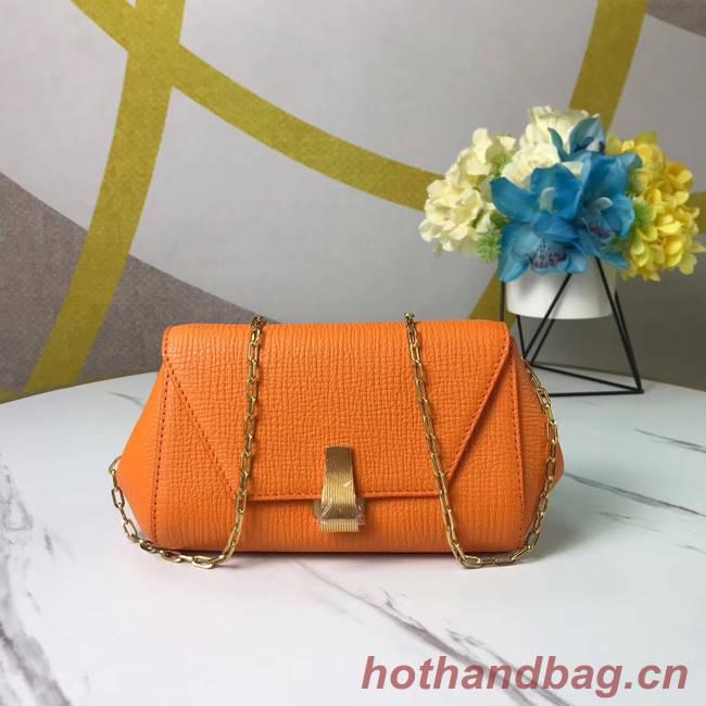 Bottega Veneta Original Leather Mini Chain Bag BV6700 yellow
