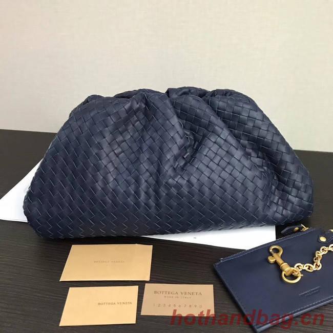 Bottega Veneta Weave Clutch bag 585853 blue