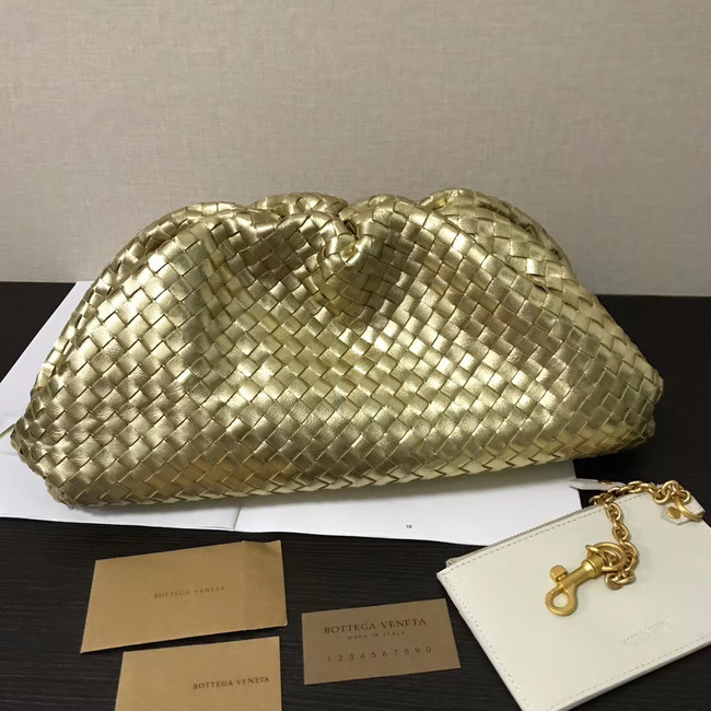 Bottega Veneta Weave Clutch bag 585853 gold