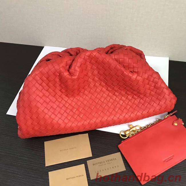 Bottega Veneta Weave Clutch bag 585853 red