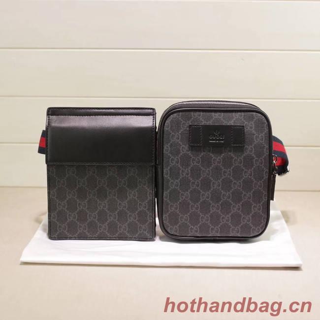 Gucci GG Supreme belt bag 450956 black