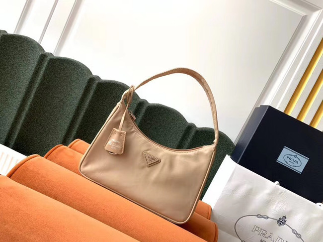 Prada Re-Edition 2000 nylon mini-bag 1NE515 apricot