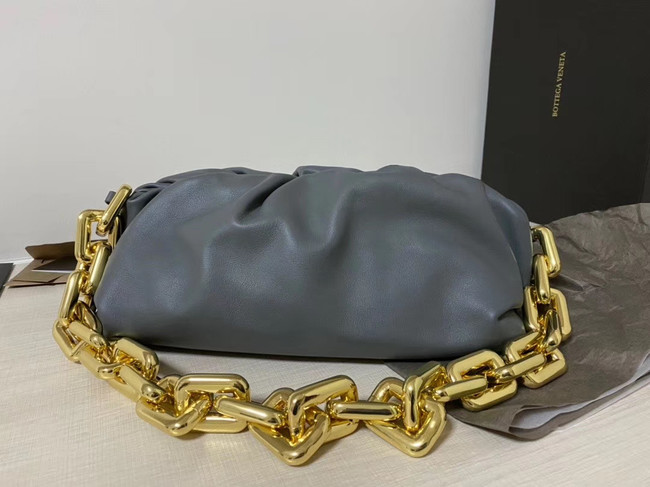Bottega Veneta Nappa lambskin soft Shoulder Bag 620230 grey