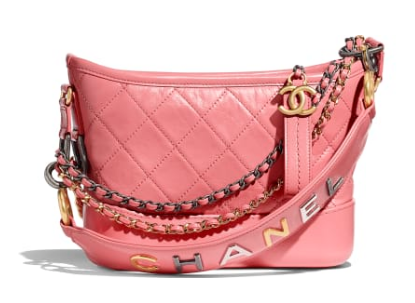 Chanel gabrielle small hobo bag AS0865 pink