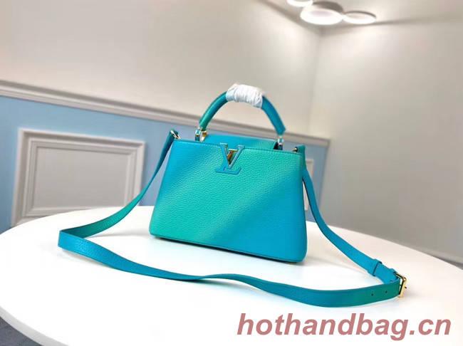 Louis Vuitton CAPUCINES BB M55374 blue