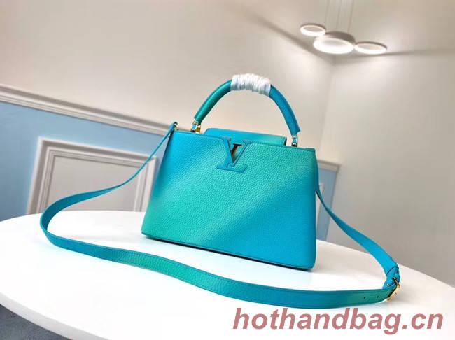 Louis Vuitton CAPUCINES PM M55375 blue