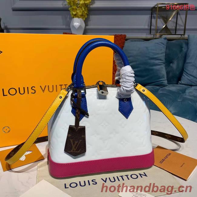Louis vuitton original Monogam vernis M91606 white