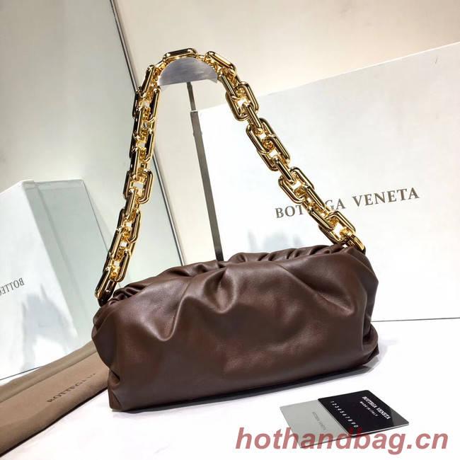 Bottega Veneta Nappa lambskin soft Shoulder Bag 620230 dark purple