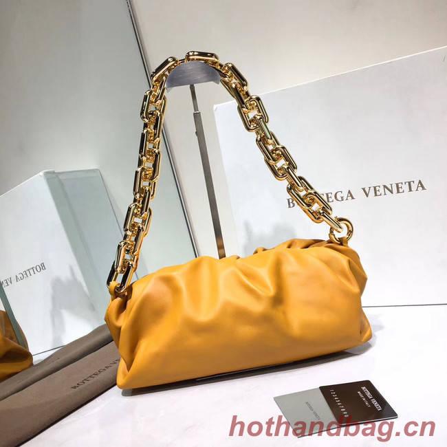 Bottega Veneta Nappa lambskin soft Shoulder Bag 620230 yellow