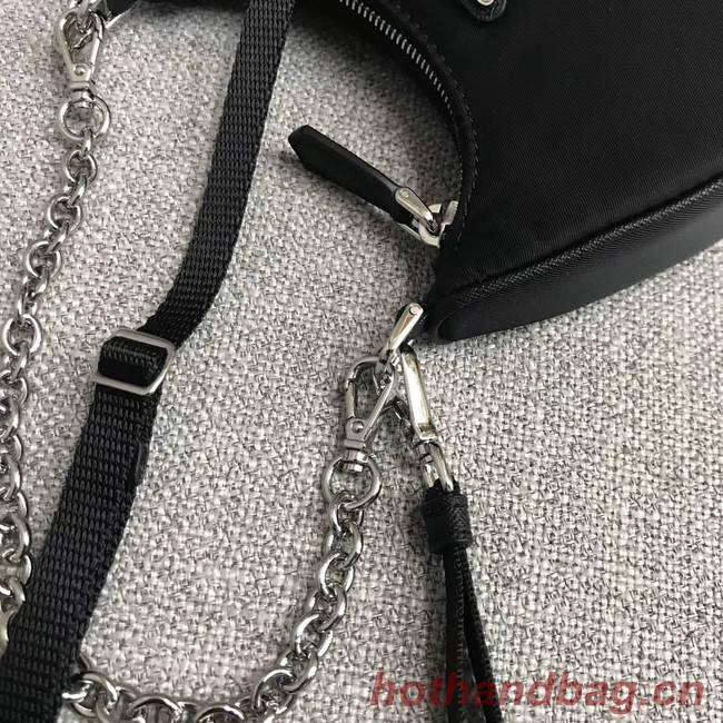 Prada Re-Edition 2005 nylon mini shoulder bag 1BH203 black