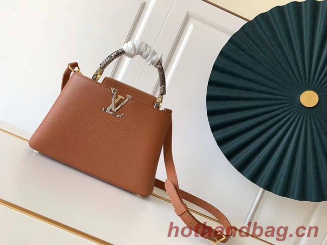 Louis Vuitton CAPUCINES PM M523867 brown