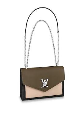 Louis Vuitton MYLOCKME BB M55522 apricot&green