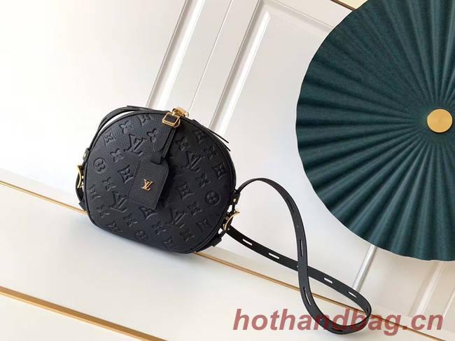 Louis Vuitton Monogram Empreinte Original Leather M45167 black