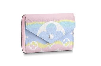 Louis vuitton ESCALE VICTORINE Wallet M68842 pink