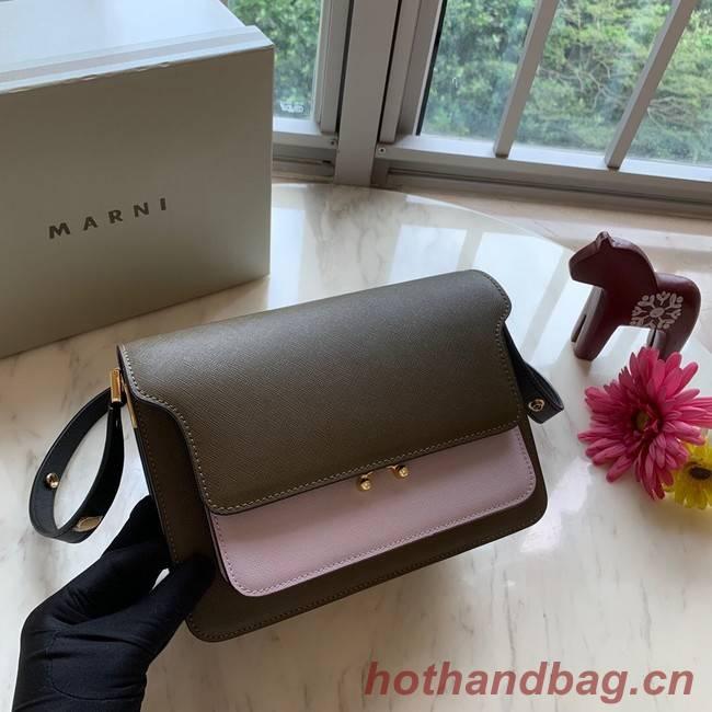 Marni Original Calfskin Leather Bag 35068-1