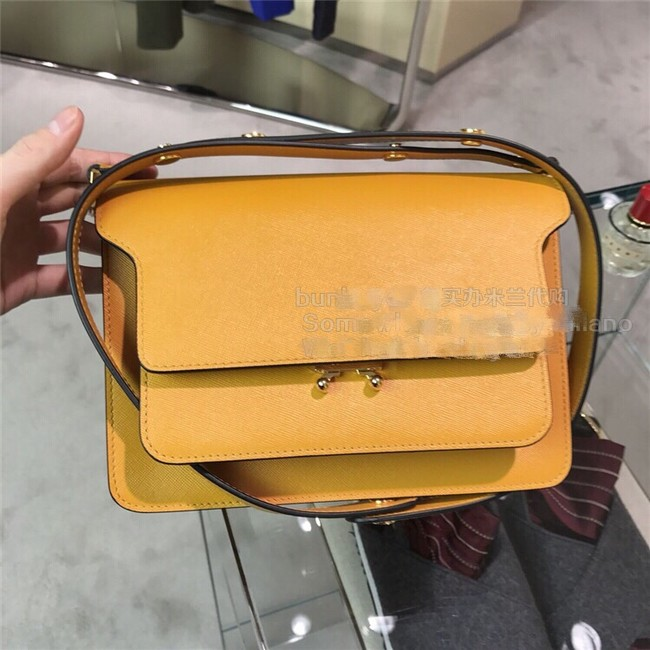Marni Original Calfskin Leather Bag 35068-2
