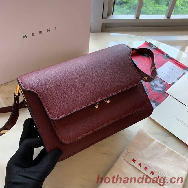 Marni Original Calfskin Leather Bag 35068-8