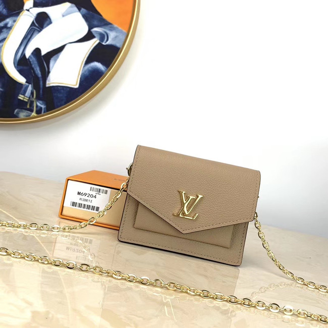 Louis Vuitton NANO LOCKME M69204 cream