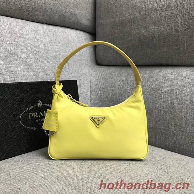 Prada Re-Edition 2000 nylon mini-bag 91515 yellow