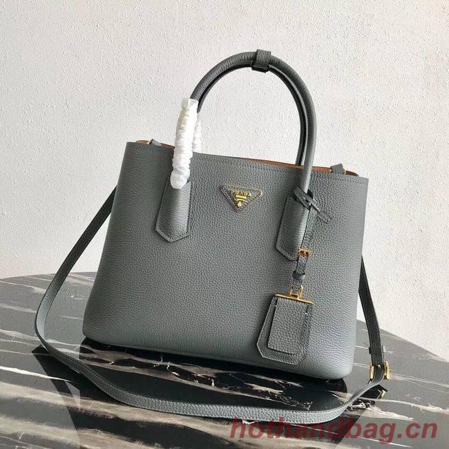 Prada Deer skin bag 1BG008 grey