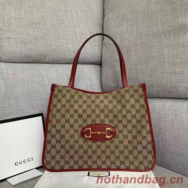 Gucci 1955 Horsebit tote bag 623694 red