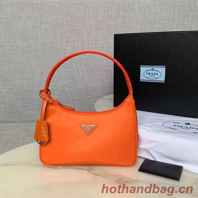 Prada Re-Edition 2000 nylon mini-bag 1NE515 orange