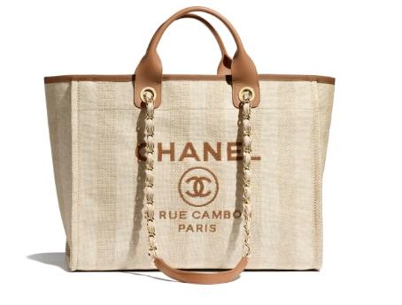 Chanel Shopping bag A66941 Beige