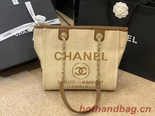 Chanel Shoulder Bag A66942 Beige