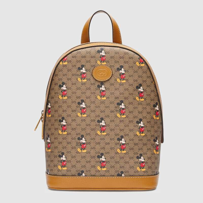 Gucci Disney x Mickey Mouse backpack 552884 brown