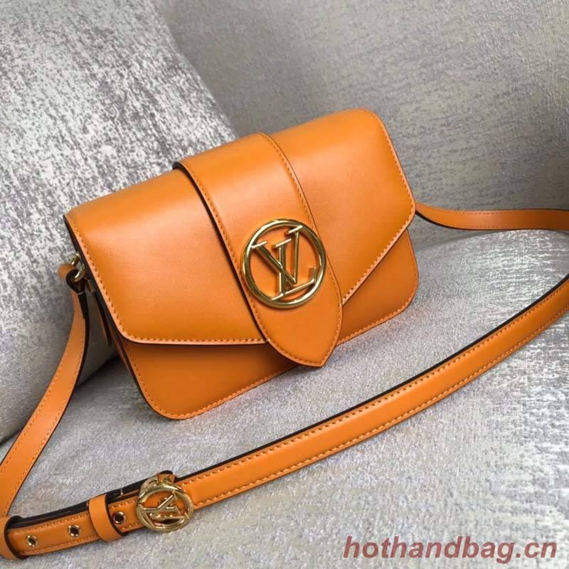 Louis Vuitton Original Smooth Leather M53950 Orange