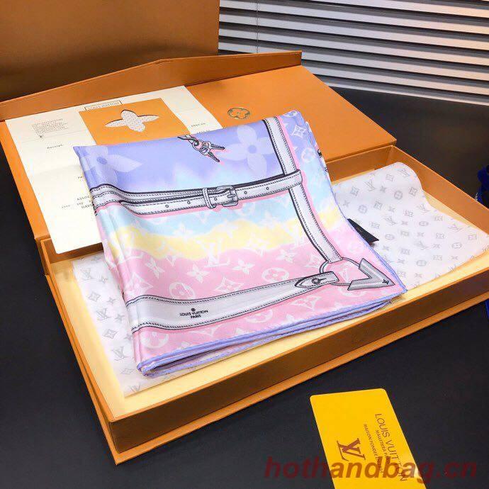 Louis Vuitton silk Scarf M7301