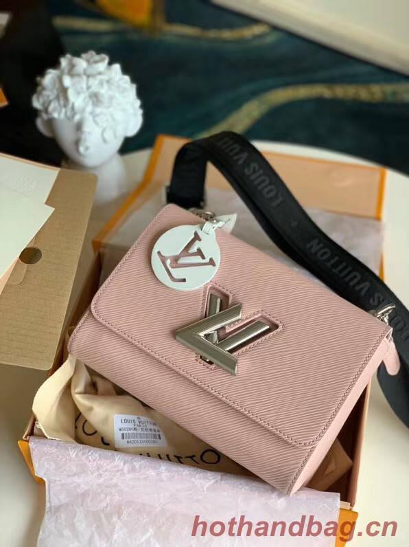 Louis vuitton original epi leather TWIST M50280 pink