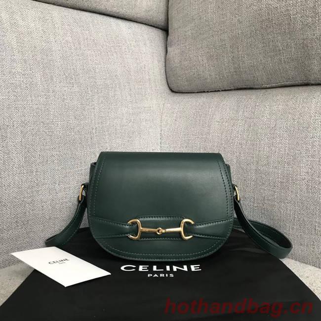 Gucci GG Marmont shoulder bag 191363 blackish green