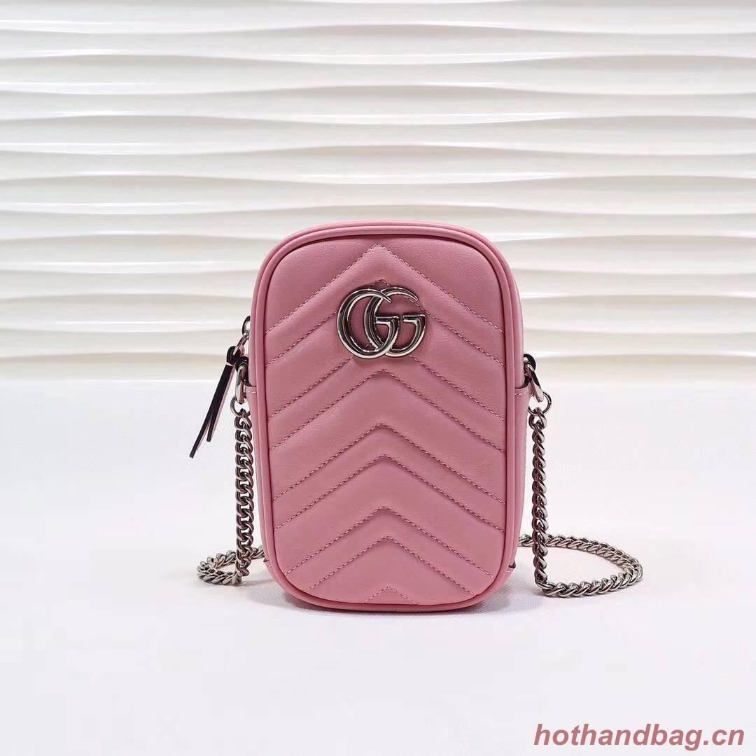 Gucci GG Marmont Mini Bag 575188 Pink