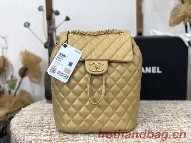 Chanel Backpack Sheepskin Original Leather 83431 gold