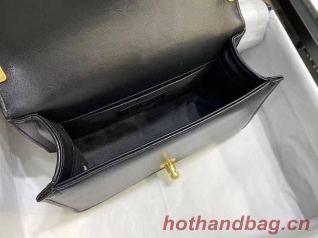Small boy chanel handbag AS67085 black