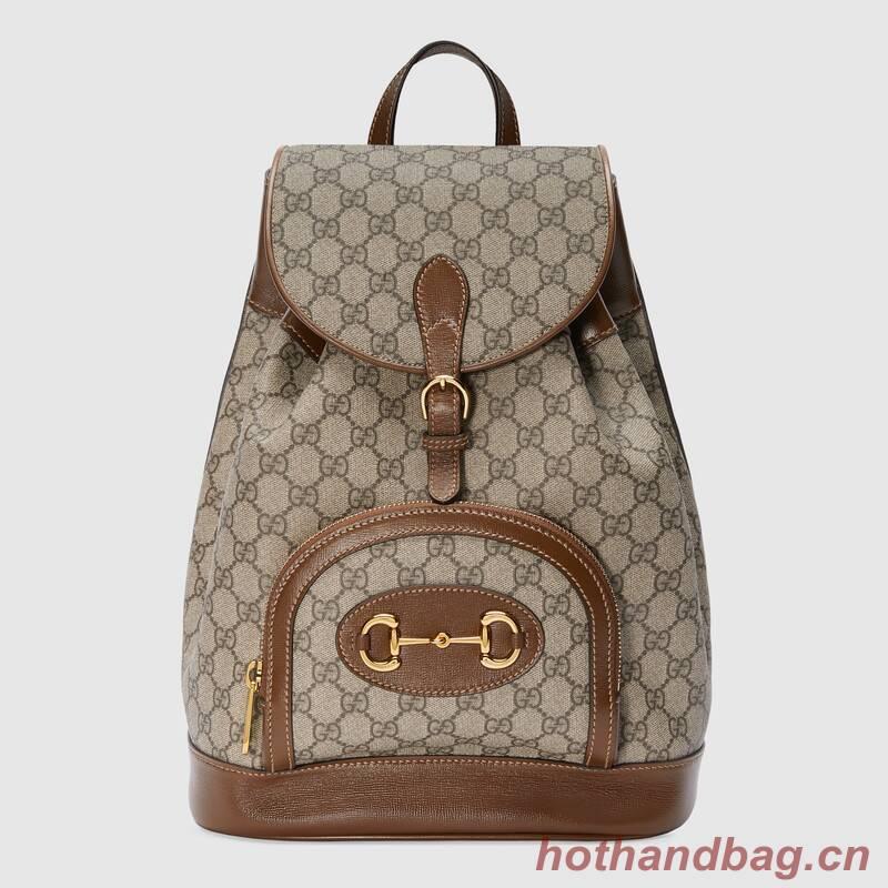 Gucci 1955 Horsebit backpack 620849 Brown