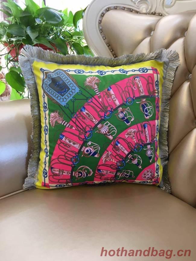 Hermes silk pillow H3695-6