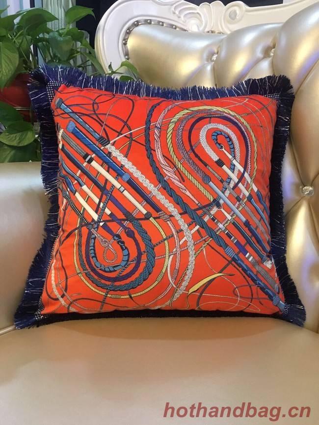 Hermes silk pillow H3695-7
